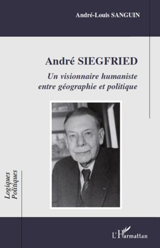 Couverture André Siegfried