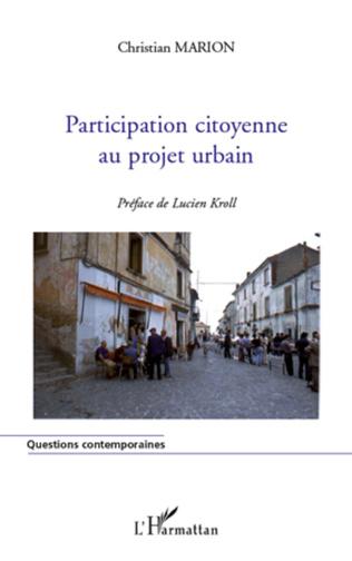 Couverture Participation citoyenne au projet urbain