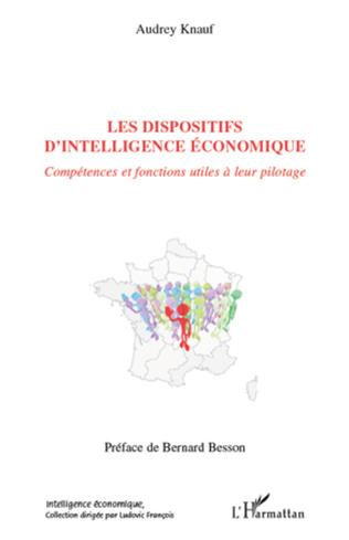 Couverture Les dispositifs d'intelligence économique