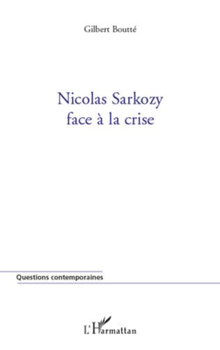 Couverture Nicolas Sarkozy face à la crise