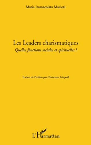 Couverture Les leaders charismatiques