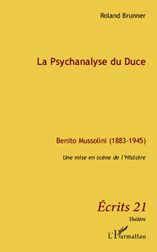Couverture La Psychanalyse du Duce