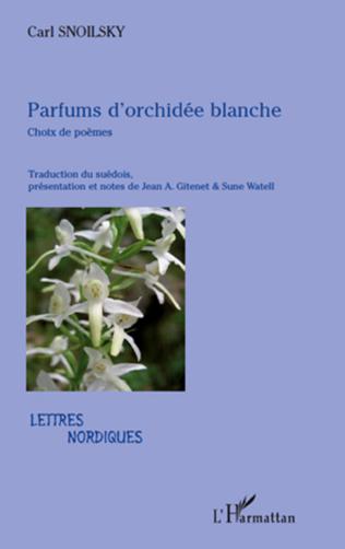 Couverture Parfums d'orchidée blanche