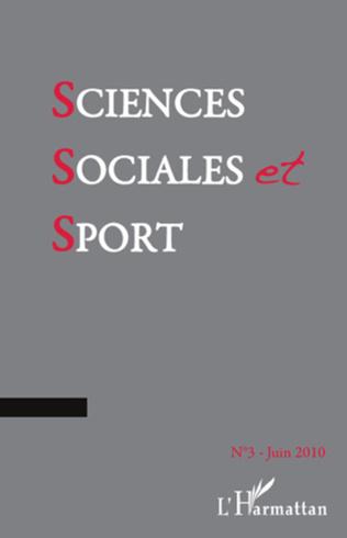Couverture Sciences sociales et sport n° 3