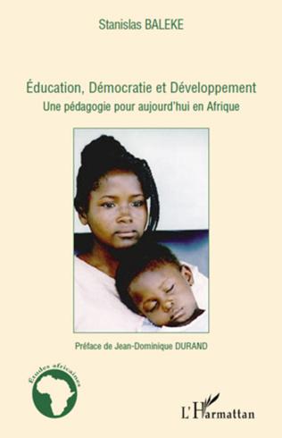 Couverture Education, Démocratie et Développement