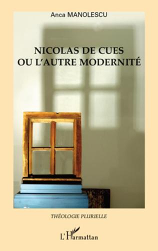 Couverture Nicolas de Cues ou l'autre modernité