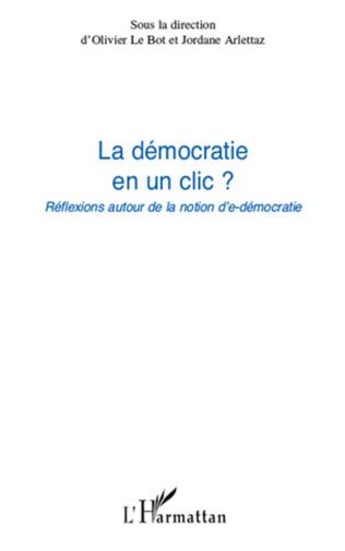 Couverture La démocratie en un clic ?