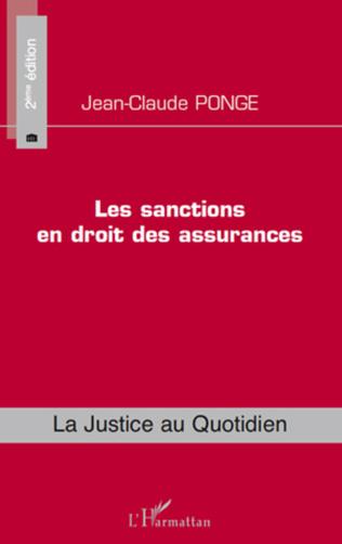 Couverture Les sanctions en droit des assurances