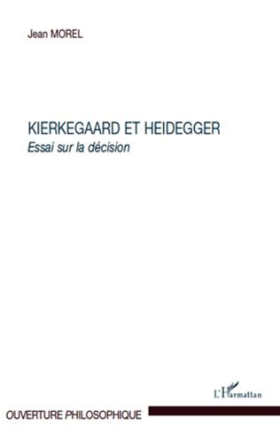 Couverture Kierkegaard et Heidegger