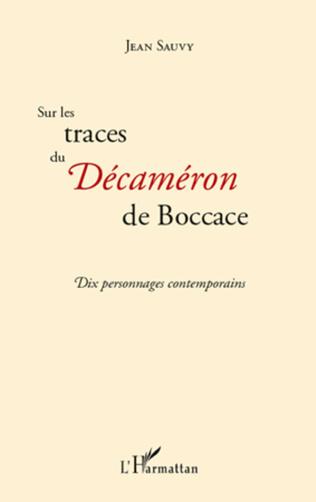 Couverture Sur les traces du Décaméron de Boccace