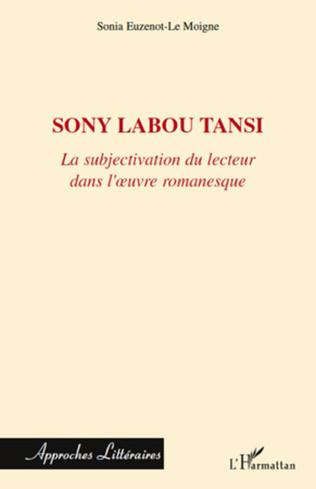 Couverture Sony Labou Tansi