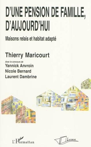 Couverture D'une pension de famille d'aujourd'hui