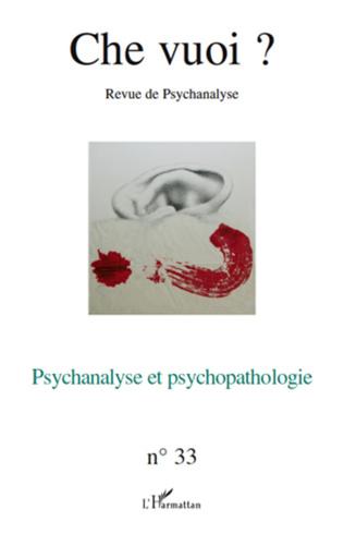 Couverture Psychanalyse et psychopathologie