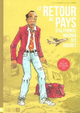 Couverture Le retour au pays d'Alphonse Madiba dit Daudet
