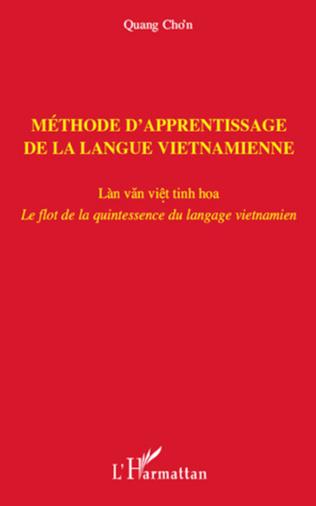 Couverture Méthode d'apprentissage de la langue vietnamienne