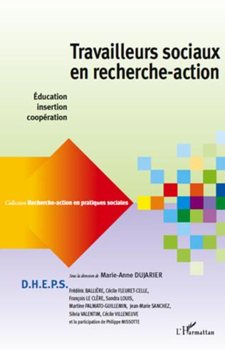 Couverture Travailleurs sociaux en recherche-action