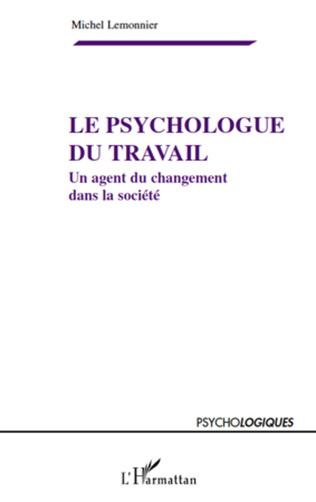 Couverture Le psychologue du travail