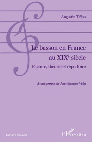 Couverture Le basson en France au XIXe siècle