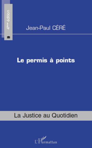 Couverture Le permis à points (4e édition)