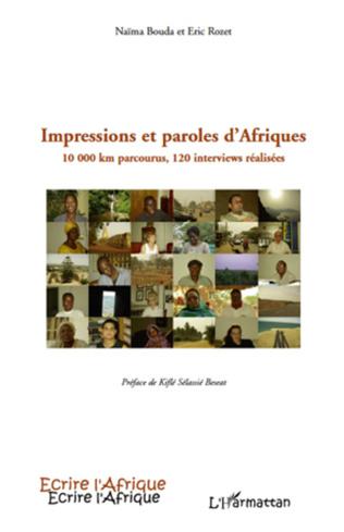 Couverture Impressions et paroles d'Afriques