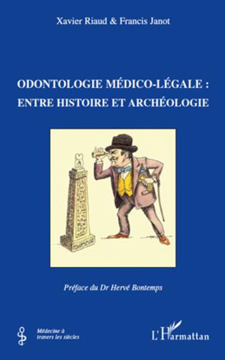 Couverture Odontologie médico-légale :