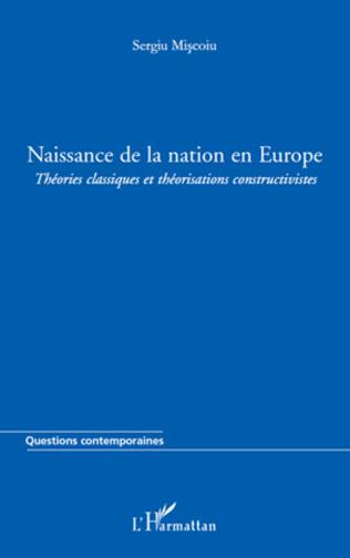 Couverture Naissance de la nation en Europe