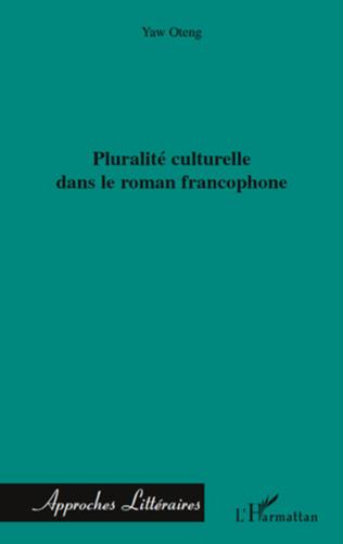 Couverture Pluralité culturelle dans le roman francophone