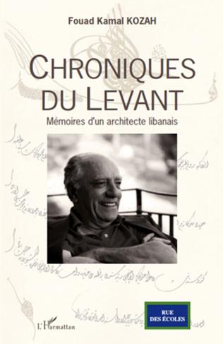 Couverture Chroniques du Levant
