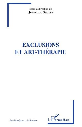 Couverture Exclusions et art-thérapie