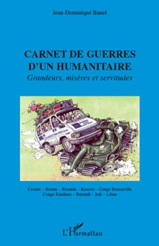 Couverture Carnet de guerres d'un humanitaire