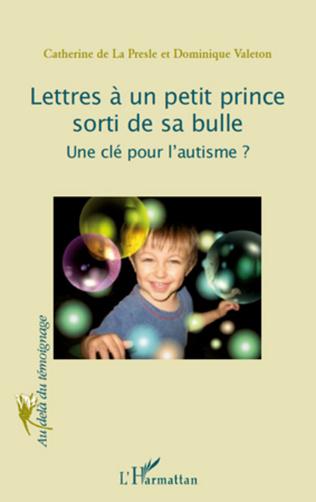 Couverture Lettres à un petit prince sorti de sa bulle