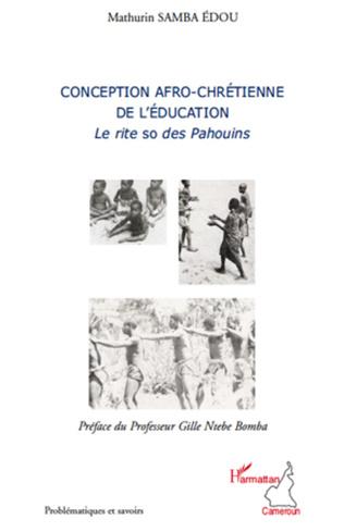 Couverture Conception afro-chrétienne de l'éducation