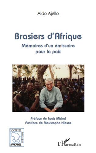 Couverture Brasiers d'Afrique