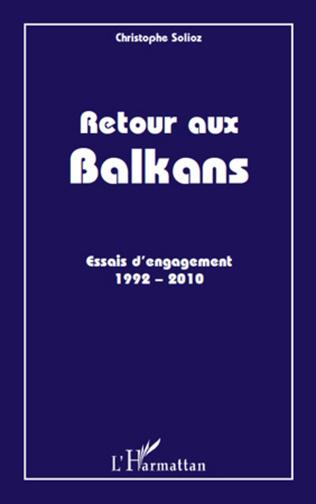 Couverture Retour aux Balkans