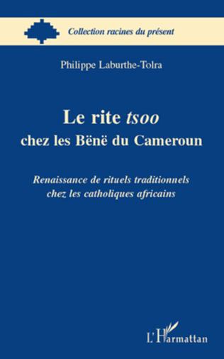 Couverture Le rite tsoo chez les Bënë du Cameroun