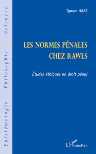 Couverture Les normes pénales chez Rawls