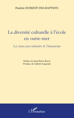 Couverture La diversité culturelle à l'école en outre-mer