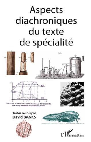Couverture Aspects diachroniques du texte de spécialité