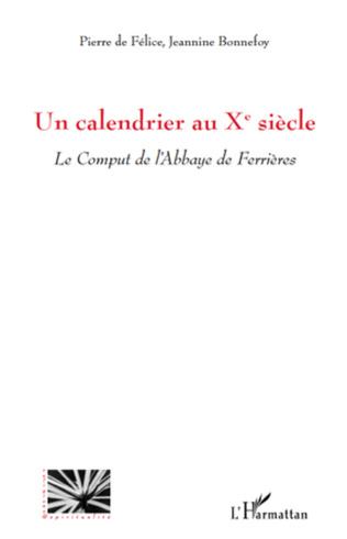 Couverture Un calendrier au Xe siècle