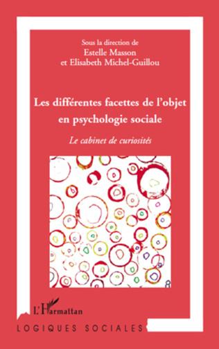 Couverture Les différentes facettes de l'objet en psychologie sociale
