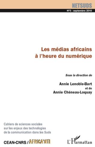 Couverture Les médias africains à l'heure du numérique