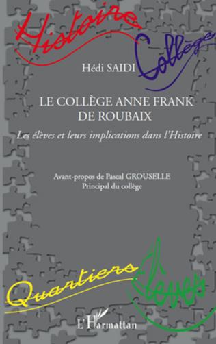 Couverture Le Collège Anne Frank de Roubaix
