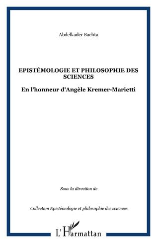 Couverture Epistémologie et philosophie des Sciences