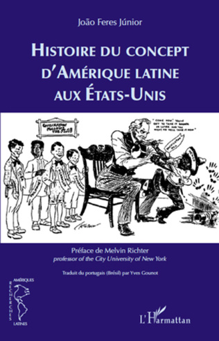 Couverture Histoire du concept d'Amérique latine aux Etats-Unis