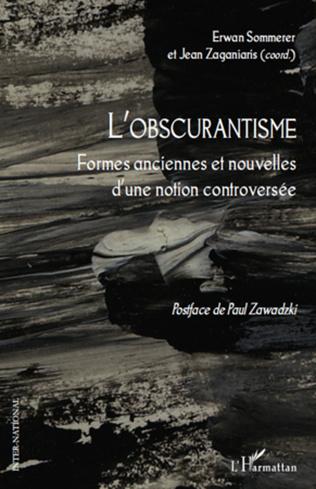 Couverture L'obscurantisme