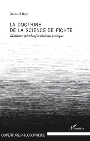 Couverture La doctrine de la science de Fichte