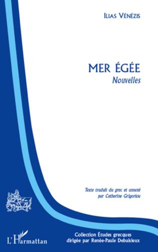 Couverture Mer Egée