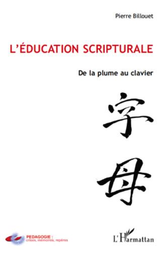 Couverture L'éducation scripturale