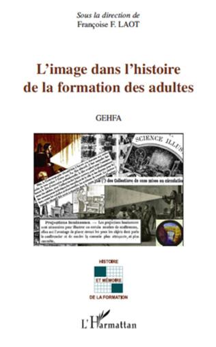 Couverture L'image dans l'histoire de la formation des adultes