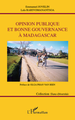 Couverture Opinion publique et bonne gouvernance à Madagascar